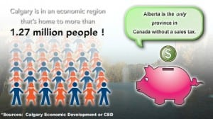 Calgary Facts Population Growth Infographic