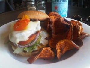 Chicken Burger Holy Grill Calgary