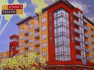 St Johns New Condos in Kensington Calgary