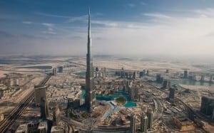 Dubai skysraper