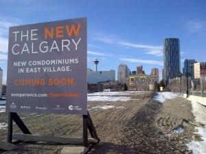 New Condos in East Village Calgary