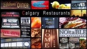 Best Calgary Lunch Spots Restaurants Collage
