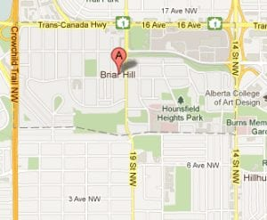 Briar Hill Houndsfield Heights Calgary Community