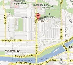 Hillhurst Calgary Homes