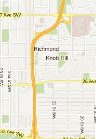 Richmond Park Knob Hill Inner City Homes Calgary