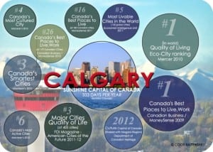 Calgary awards and rankings are the best in Canada