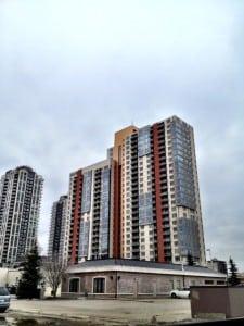 Vantage Point condos in Connaught Calgary