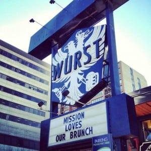 WURST Restaurant Beer Hall Calgary