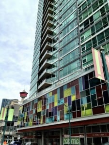 Colours Condos in Victoria Park Calgary