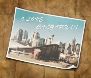 I Love Calgary Alberta