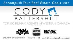 Cody Battershll Top 100 Producing REMAX Realtor in Western Canada
