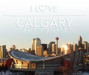 I love downtown Calgary
