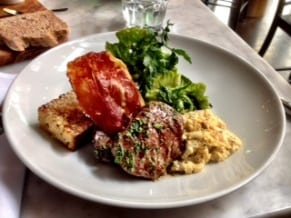 Borgo Trattoria Steak Eggs Brunch Italian Gourmet