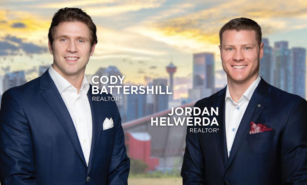 Cody Battershill Jordan Helwerda REMAX Agents REALTORS in Calgary