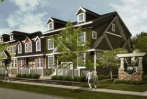 ZEN Townhomes Avalon Auburn Bay Calgary Lake Community