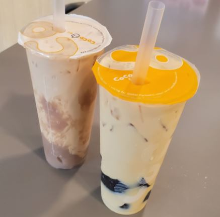 bubble tea in calgary coco 16th avenue NE