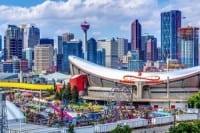Birdseye View Calgary Stampede 2014