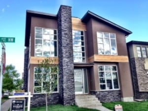 New Infill Home Calgary Inner City Hillhurst