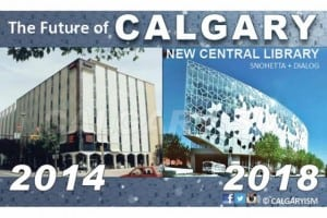 New Central Library East Village Calgary