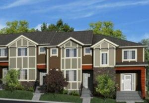 Urbana Townhomes Nolan Hill Calgary