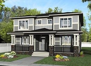 Duplex home evanston northwest calgary alberta