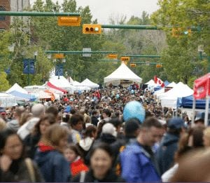 spring summer calgary festivals june lilac festival