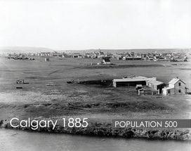 Calgary 1885 history of YYC Alberta