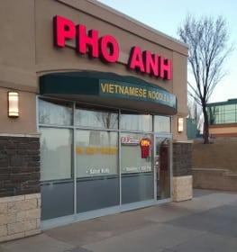 Pho Anh Calgary Vietnamese restaurant crowfoot northwest Calgary