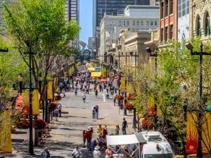 8th Avenue SW Downtown Calgary Alberta