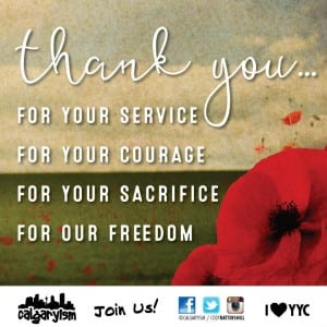 remembrance day events in calgary