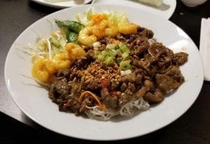 pho houz vietnamese kensington northwest beef shrimp dish