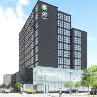 rendering new hotel east village calgary