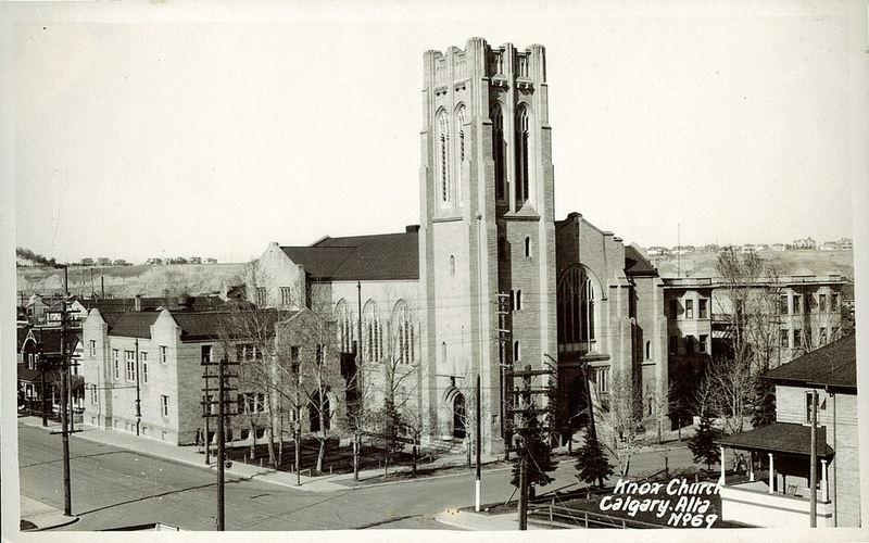 calgary historical picture knox united church
