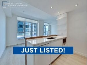 parkside waterfront condo just listed