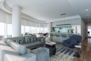 THE THEODORE new condos interior design