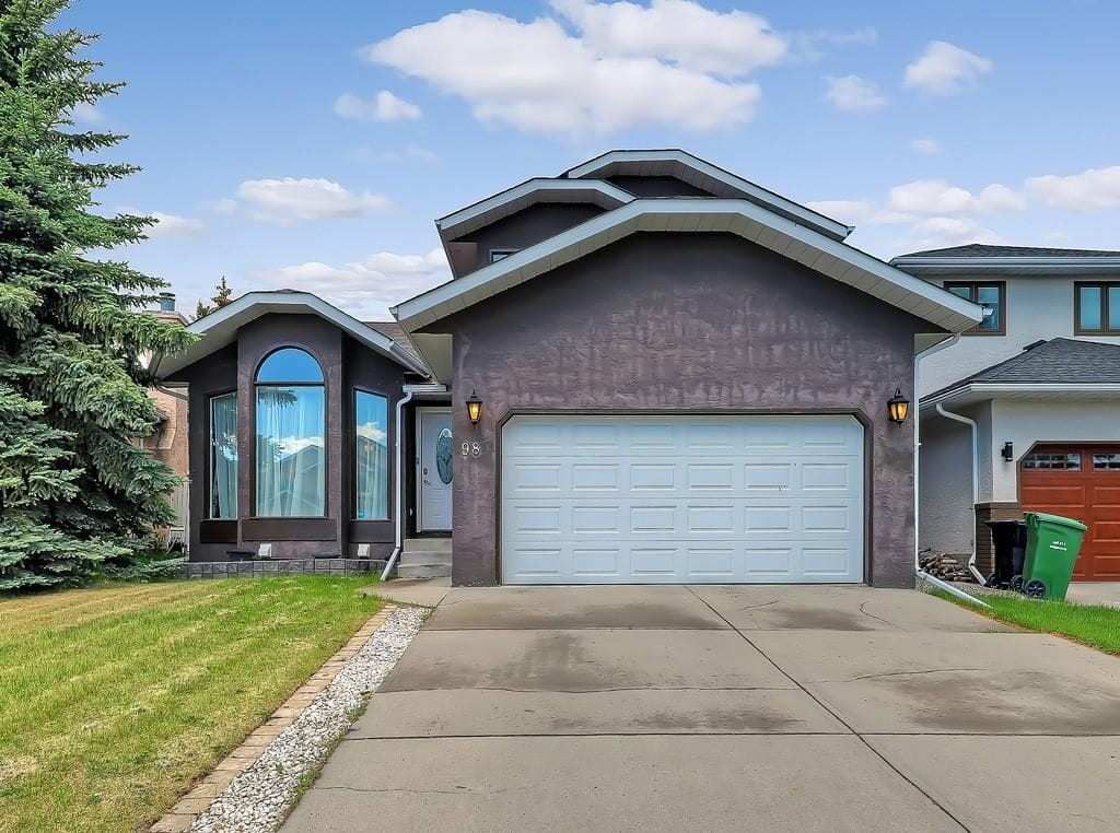 home for sale hawkwood calgary frontal exposure