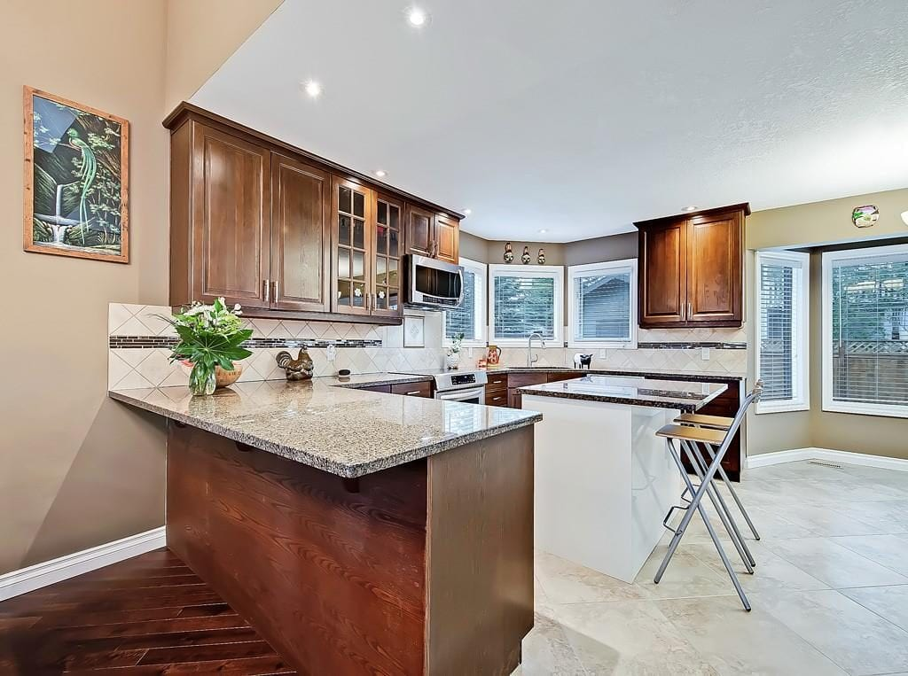 hawkwood home for sale kitchen view