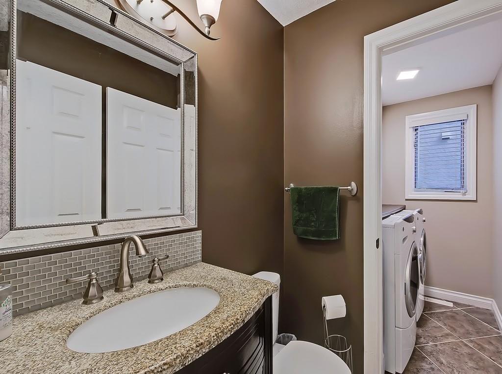 hawkwood home for sale bathroom laundry room view 98 hawkstone drive nw
