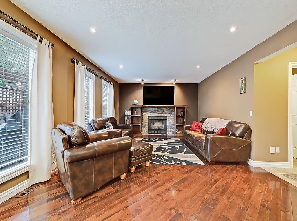 hawkwood home for sale living room view 98 hawkstone drive nw