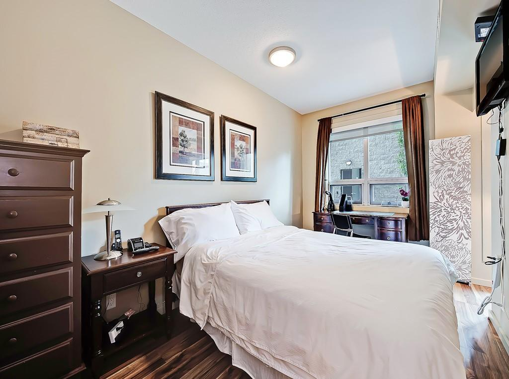 master beroom view sasso condo for sale, 208 1410 1st street se