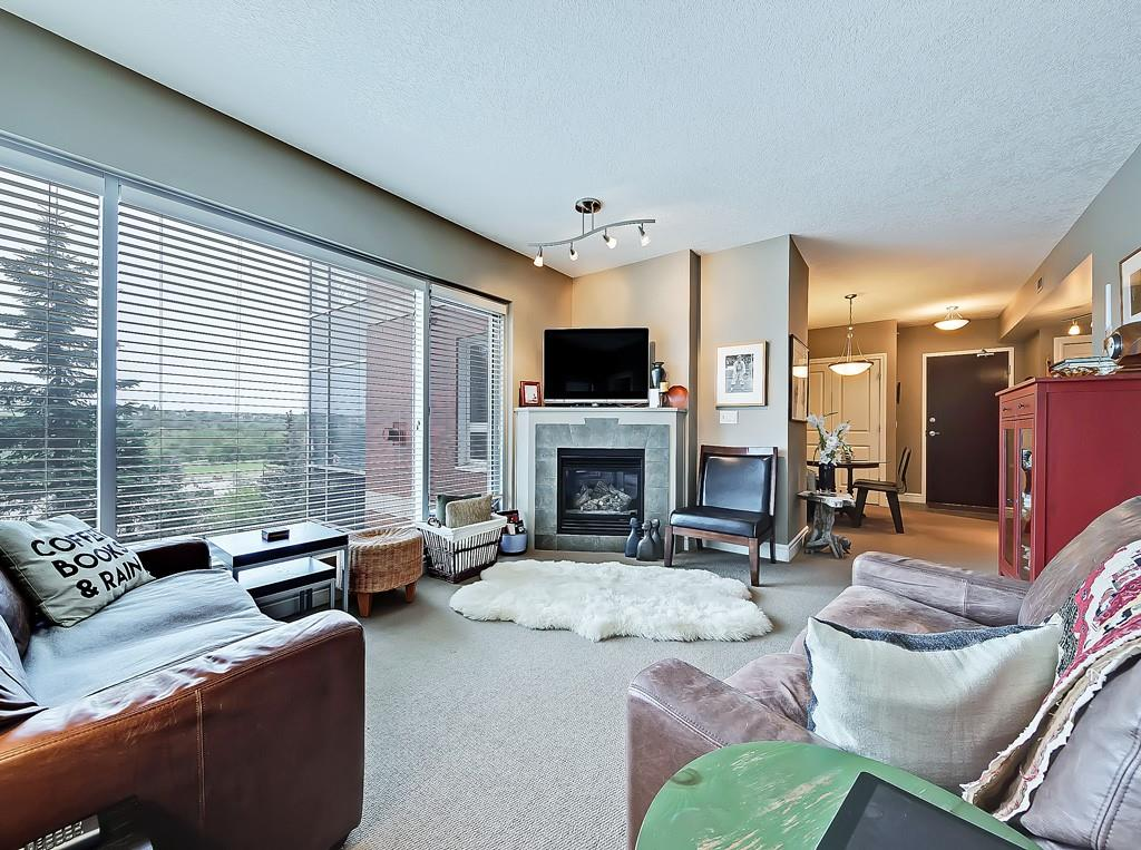 five west condo unit for sale living room view