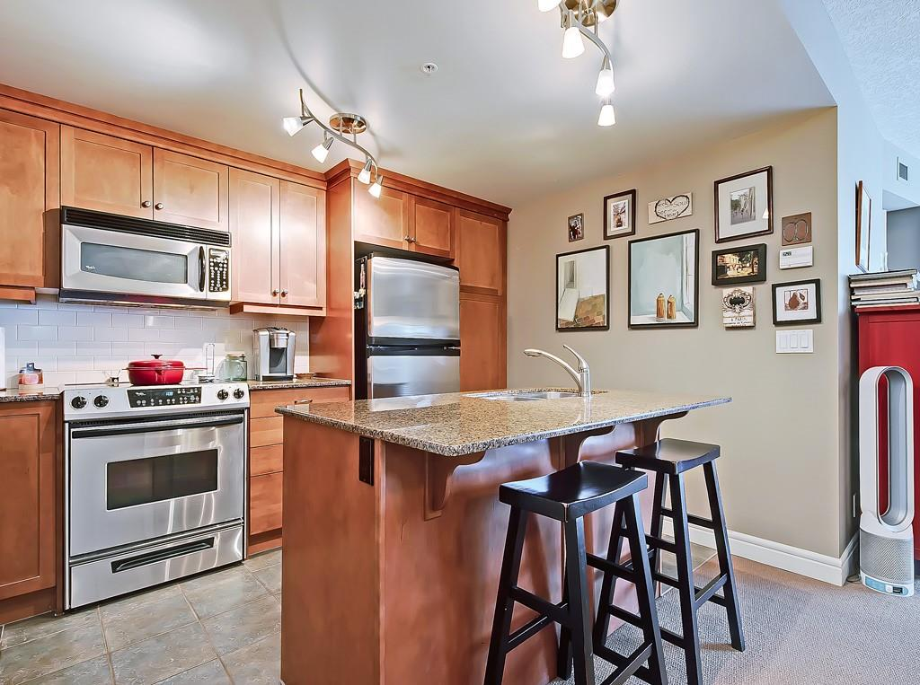five west condo for sale kitchen view