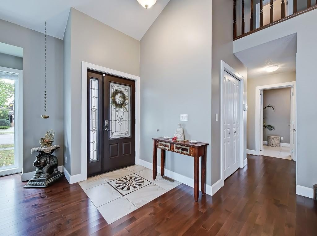 home for sale in hawkwood entranceway view