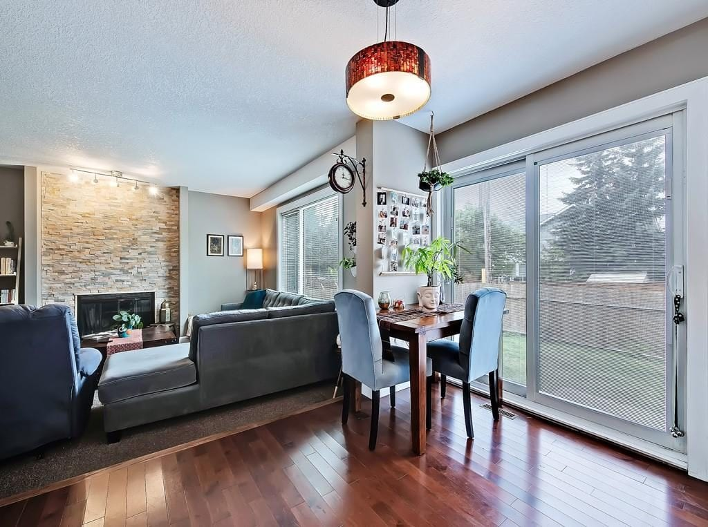 hawkwood real estate for sale living room view