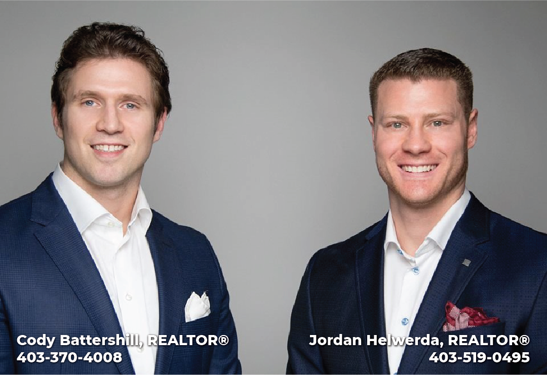 Cody Battershill Jordan Helwerda Realtors in Calgary RE/MAX House of Real Estate