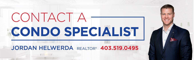 downtown condo specialist in Calgary - Realtor Jordan Helwerda