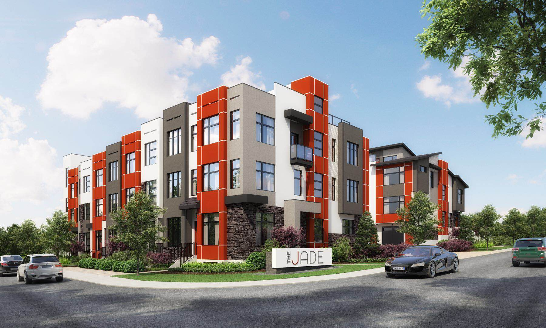 New townhomes for sale winston heights calgary alberta the jade