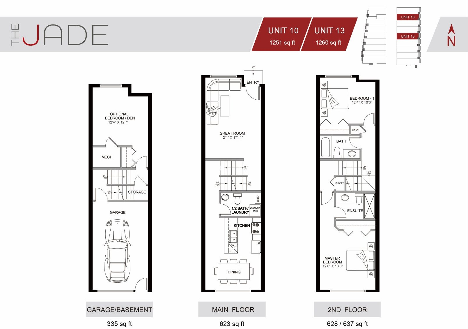 The Jade Townhome Winston Heights Unit #10 for sale