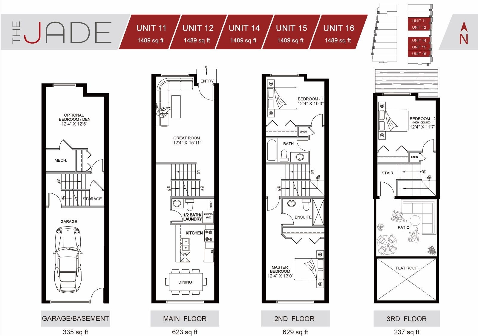 The Jade Townhome Winston Heights Unit #15 for sale