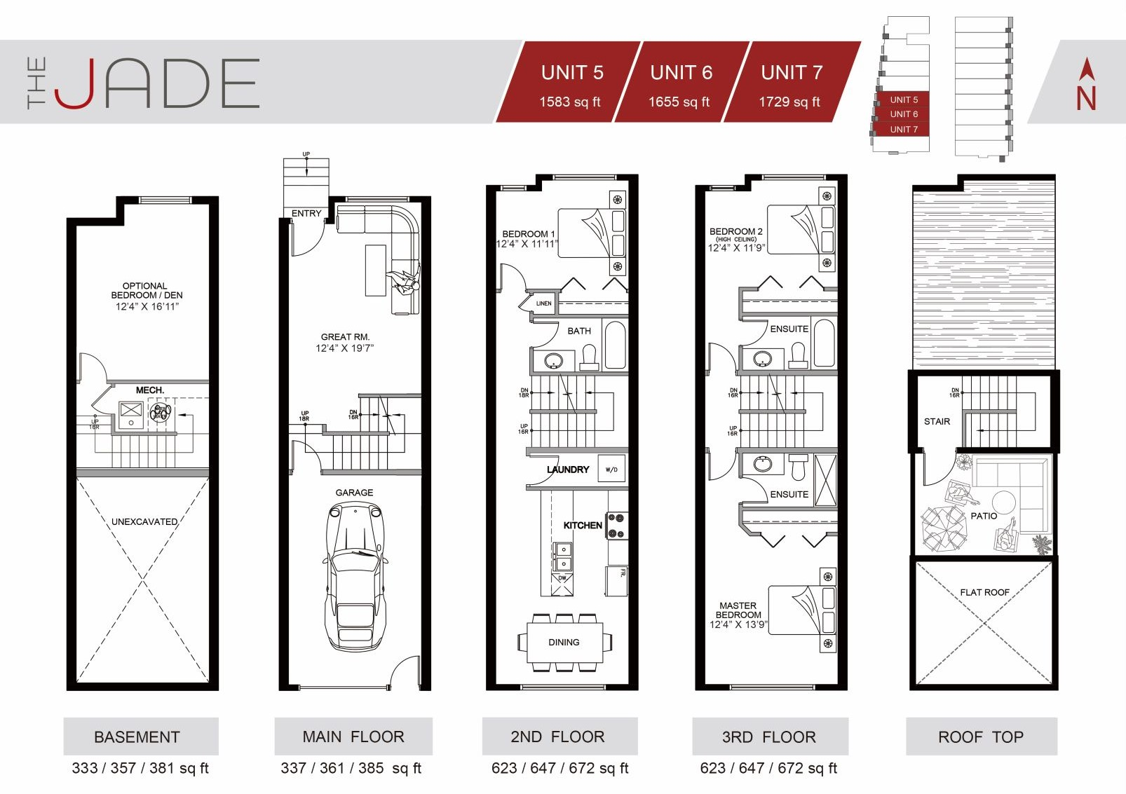 The Jade Townhome Winston Heights Unit #5 for sale